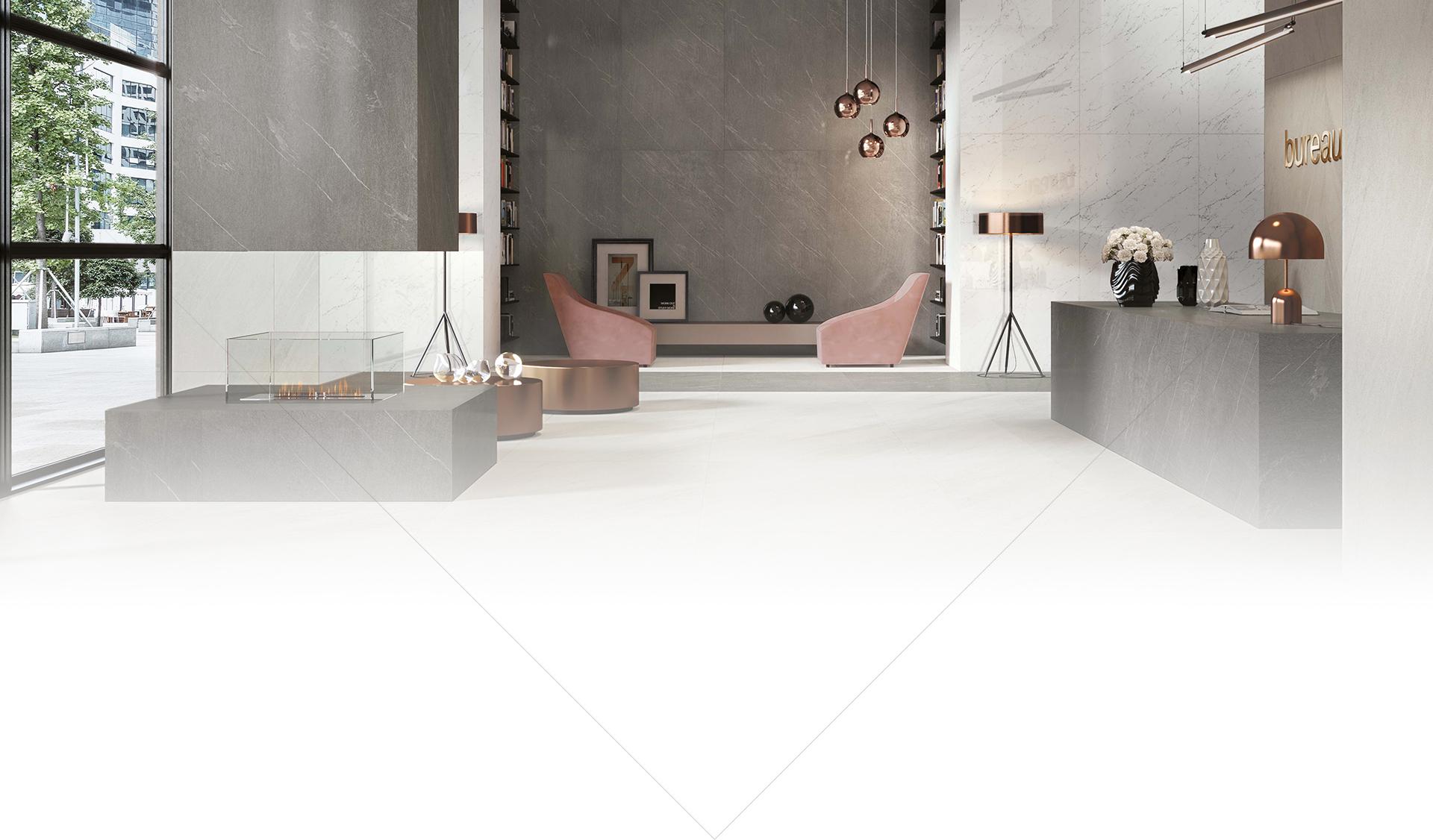 Giải pháp không gian nội thất từ sàn gỗ - gạch - thiết bị phòng tắm